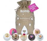 Bomb Cosmetics Aj Come Bearing Gifts mix balistika 7 x 160 g, kozmetická sada