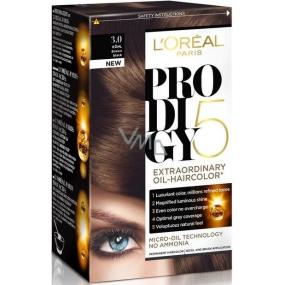 Loreal Paris Prodigy 5 barva na vlasy 3.0 hnědočerná