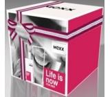 Mexx Life Is Now for Her toaletní voda 30 ml + 2 x tělové mléko 50 ml, dárková sada