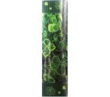 Albi Záložka Flip Flop 3D Čtyřlístky, Ať štěstí provází Tě jen,...19 x 5 cm