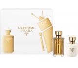 Prada La Femme toaletná voda pre ženy 50 ml + telové mlieko 100 ml, darčeková sada