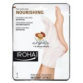 Iroha Nourishing Vyživující maska na nohy a nehty s arganovým olejem 2 x 9 ml