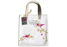 Ditipo Ptáček módne textilná taška 35 x 38 cm