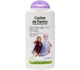 Corine de Farmu Ľadové kráľovstvo II 2v1 šampón na vlasy a sprchový gél pre deti 250 ml
