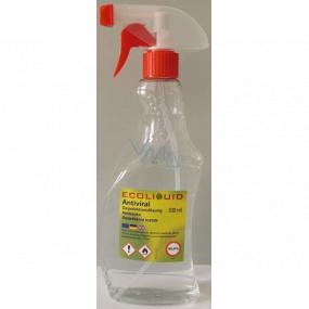 Ecoliquid Antiviral antiseptic dezinfekčný roztok, účinná dezinfekcia, rozprašovač 500 ml