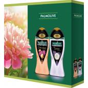 Palmolive Aroma Sensations So Luminous sprchový gél 250 ml + Feel Loved sprchový gél 250 ml, kozmetická sada