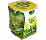 Admit Verona Green Tea - Zelený čaj vonná sviečka v skle 90 g
