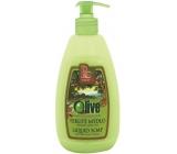 Bohemia Gifts & Cosmetics Oliva krémové tekuté mýdlo 500 ml