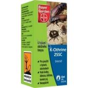 K-Othrine 25SC přípravek proti obtížnému a škodlivému hmyzu 25 ml