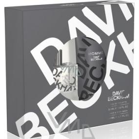 David Beckham Homme toaletní voda 30 ml + sprchový gel 200 ml, dárková sada