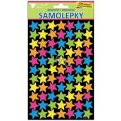 Room Decor Samolepky neonové hvězdičky 25 x 14 cm 154 kusů