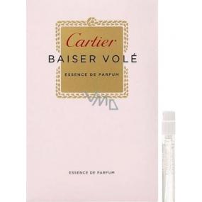 Cartier Baiser Volé Essence de Parfum parfémovaná voda pro ženy 1,5 ml s rozprašovačem, Vialka