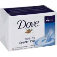 Dove Beauty Cream Bar krémové toaletné mydlo 4 x 100 g