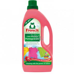 Frosch Eko Granátové jablko prací prostriedok na farebnú bielizeň 22 dávok 1,5 l
