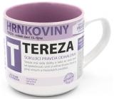 Nekupto Hrnkoviny Hrnek se jménem Tereza 0,4 litru