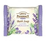 Green Pharmacy Levanduľa a Olej z ľanových semienok toaletné mydlo 100 g