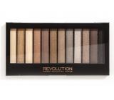 Makeup Revolution Iconic 2 paletka očných tieňov 12 x 1,1 g