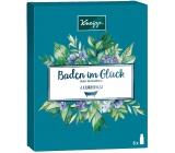 Kneipp Baden im Gluck Oleje do kúpeľa Dokonalý odpočinok 20 ml + Hlboké uvoľnenie 20 ml + Mandľové kvety 20 ml + Tajomstvo krásy 20 ml + Antistres 20 ml + Staré dobré časy, kozmetická sada