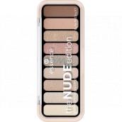 Essence The Nude Edition Eyeshadow Palette paletka očných tieňov 10 Pretty In Nude 10 g