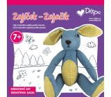 Ditipo Kreatívny set šitie Zajačik pre deti vek 7+