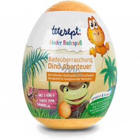 Tetesept Dinosaury šumivé gule - vajcia do kúpeľa s figúrkou dinosaura 140 g
