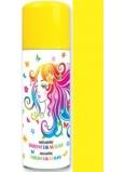 Anjel zmývateľné farebný lak na vlasy žltý 125 ml
