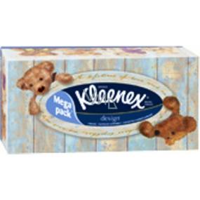 Kleenex Design Box papierové vreckovky 2 vrstvové v krabičke 130 kusov