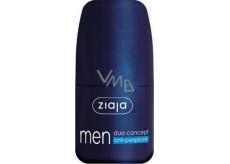 Ziaja Men Duo Concept guličkový antiperspirant dezodorant roll-on pre mužov 60 ml