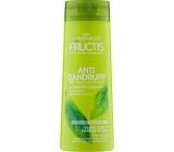Garnier Fructis Anti Dandruff 2v1 posilující šampon na odstranění lupů a obnovení lesku vlasů 250 ml