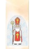 Nekupto Sáčok vianočné Mikuláš 18 x 40 cm LA 018