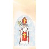 Nekupto Sáček vánoční Mikuláš 18 x 40 cm LA 018