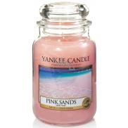 YANKEE SVIEČKA vonná sklo veľká Pink Sands 3741