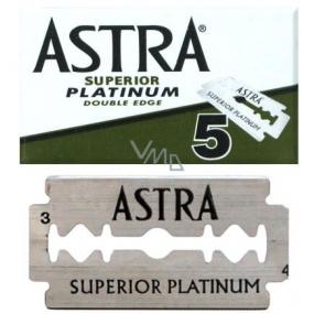 Astra Superior Platinum náhradné žiletky 5 kusov