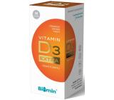 Biomin Vitamín D3 Extra napomáha lepšiemu vstrebávaniu a využitie vápnika 500 IU 30 kapslí