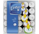 Linteo Čajová sviečka v plechu 100 kusov