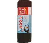 Alufix Economy Vrecia na odpad čierne 120 litrov, 70 x 100 cm, 10 kusov