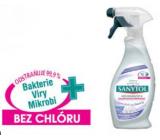 SANYTOL Dezodoračné a dezinfekčný prípravok špeciálne na tkaniny rozprašovač 500 ml
