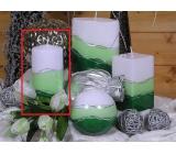 Lima Verona svíčka zelená válec 70 x 150 mm 1 kus