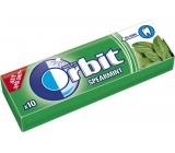 Wrigleys Orbit Spearmint žuvačky bez cukru dražé 10 kusov 14 g