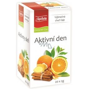 Apotheke Natur Aktívny deň ovocný čaj 20 x 2 g