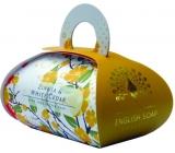 English Soap Zinnia & White Cedar Přírodní parfémované mýdlo s bambuckým máslem 260g