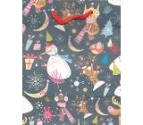 Albi Dárková papírová malá taška 13,5 x 11 x 6 cm Vánoční TS3 86177