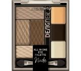 Miss Sporty Designer All in One paleta očných tieňov 100 Nude Designer 9,5 g