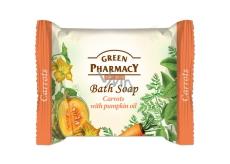 Green Pharmacy Mrkva a Tekvicový olej toaletné mydlo 100 g