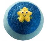 Bomb Cosmetics Hviezdica - Wish Upon a Starfish Šumivý balistik do kúpeľa 160 g