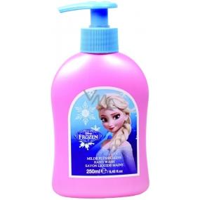 Disney Frozen tekuté mydlo pre deti dávkovač 250 ml
