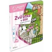 Albi Kouzelné čtení interaktivní mluvící kniha Zvířátka v ZOO