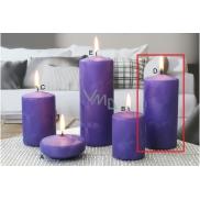 Lima Ledová svíčka fialová válec 60 x 120 mm 1 kus