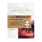 Loreal Paris Age Specialist 45+ spevňujúca textilné maska 30 g