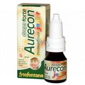 Fytofontana Aurecon Junior drops forte prírodné ušné kvapky pre úľavu od bolesti 10 ml